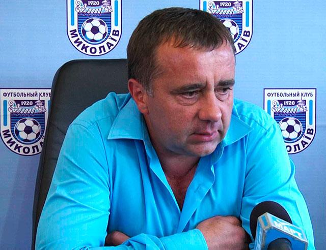 Пресс-конференция главного тренера МФК